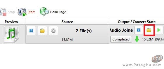 ادغام دو یا چند فایل صوتی با هم-4