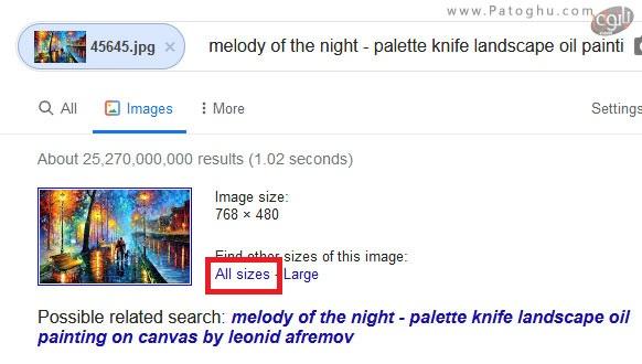 پیدا کردن منبع یک عکس در گوگل-4