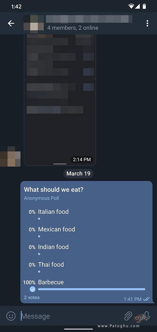 ساخت نظرسنجی در تلگرام-4