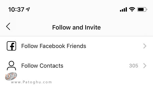 حذف لینک فیسبوک از اینستاگرام-1
